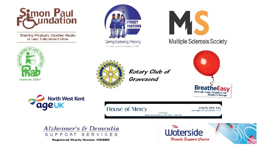 Logos of the Charities