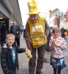 Collecting for Marie Curie Nurses