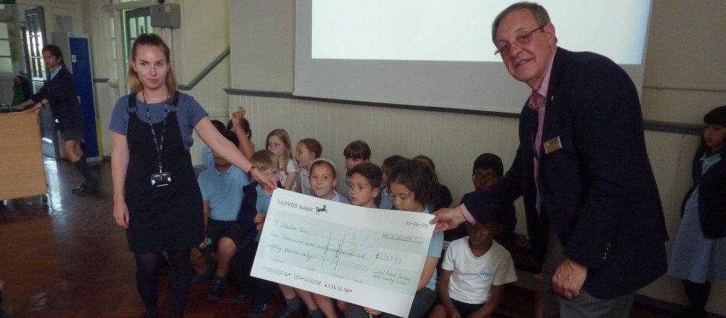 Cecil Road School raises £1,069 for ShelterBox