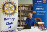 Rotary at Library Community Day