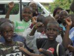 Rotarians visit Footsteps in Kenya